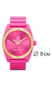 Купить <b>Настольные часы</b> цвет розовый в интернет-магазине, за ...