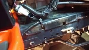 husqvarna lgt24k54 drive belt install