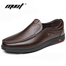 <b>High Quality</b> Genuine Leather <b>Men Slippers</b> Fashion Rubber Male ...