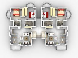 Modern 2 Bedroom Apartment Floor Plans Apartment 2 Apartment House Plans Modern Decorating 13 2