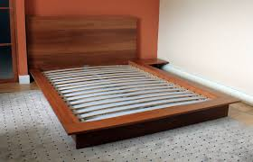 Andover Low Profile Solid Wood Platform Bed Frame Ethan Allen King ...