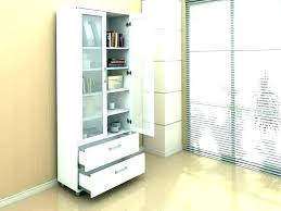bookcase with glass doors and drawers incredible white door decorating ideas 5 rugby reviews unconvincing wooden tall bo