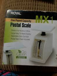 Royal Mx1 One Pound Capacity Postal Scale Free Shipping 22447391459 Ebay