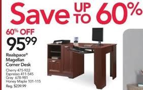 corner desk office depot. Office Depot And OfficeMax Black Friday: Realspace Magellan Corner Desk For  $95.99 Corner Desk Office Depot I