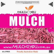 garden supplies melbourne south east. pink mulch - 40l bags + quick shop garden supplies melbourne south east