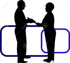 business background business people pay tribute or promotion business background business people pay tribute or promotion at work silhouette on layered stock