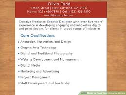 Resume Online Stunning How To Post Your Resume Online 28 Steps With Pictures WikiHow