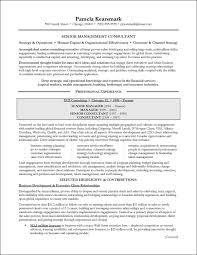 Management Consultant Resume Jmckell Com