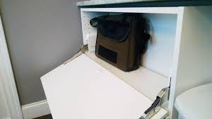 ikea sektion cabinets become a storage console