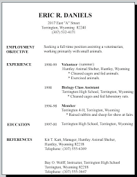 Teenager Resume Simple Resume For Teenager First Job Resume Teenager First Job Sample 44