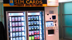 Kansai Airport Sim Card Vending Machine Magnificent SIMple Internet Access For Foreign Travelers Introduced Life Style