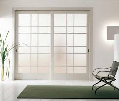 frosted glass wooden interior doors can have ornaments