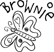 Girl Scout Brownie Coloring Pages Dariokojadininfo