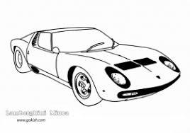 Small Picture Lamborghini Coloring Sheets Lamborghini Sports Car Coloring Pages