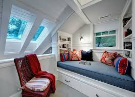 design ideas for a beautiful sloping ceiling bedroom