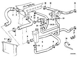 original parts for e36 320i m50 sedan engine cooling system M50 Wiring Harness Diagram original parts for e36 320i m50 sedan engine cooling system water hoses 2 estore central com Chevy Wiring Harness Diagram