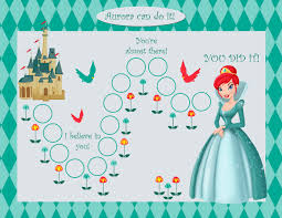 Disney Princess Behavior Chart Printable Reward Chart For 5 Year Old Activity Shelter