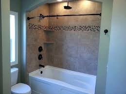 decoration bathroom glass storage shower small space tub walls with apartment co ideas and over