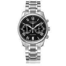 longines conquest l3 697 4 96 6 the watch gallery longines master collection automatic stainless steel black dial mens watch l26294516