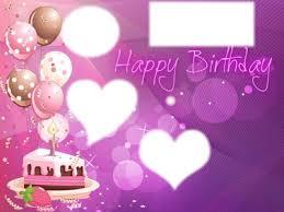 Photo Montage Happy Birthday Cake Pixiz