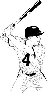 Baseball Coloring Pages Baseball Kids Printables
