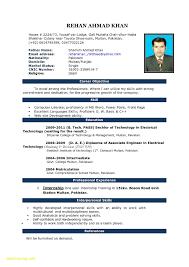 Sample Resume For Download Format Of Resume For Job Application To Download Format Of Resume 7
