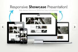 Website Mockup Template Extraordinary Responsive Showcase Free Templates Designs Website Mockup Template