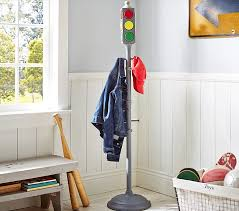 Kids Wall Coat Rack Traffic Light Coat Rack Pottery Barn Kids 67