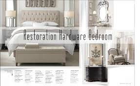 Restoration Hardware Master Bedroom