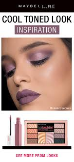get ready for prom using only maybelline new york has every trending date