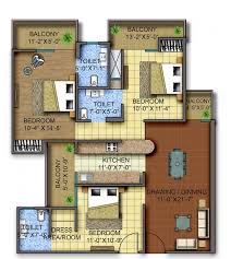 wonderful sq ft house plans in tamilnadu bedroom bath indian style 1100 3d 3 2 2 bhk house plan 1200 sq ft image