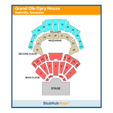 Grand Ole Opry Ryman Seating Chart Grand Ole Opry House Events And Concerts In Nashville