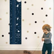 Children Growth Chart Baby Growth Chart Kids Height Chart Space Themed Growth Chart Wall Growth Chart Wall Height Chart Height Ruler