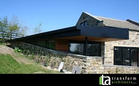 roof form contemporary garden room with a dynamic roof form transform