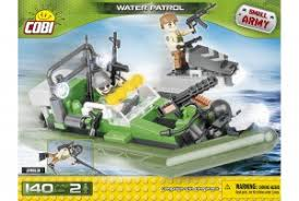 "Пластиковый <b>конструктор COBI</b> ""<b>Патрульная лодка</b> Water Patrol ..."