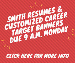 Smith Resumes Customized Career Target Banners Mba Career Terp Talk