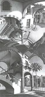 Behang Arte Mc Escher 23182 Fotobehang Behangsitecom