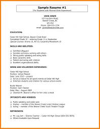 Lifeguard Sample Resume Skills Job Description Normyinfo Free Swim