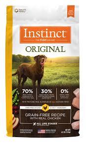 instinct original grain free recipe with real en