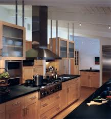 maple kitchen cabinets with black appliances. Denver Honey Maple Cabinets Kitchen Transitional With Black Counter High Carbon Stainless Steel Chef S Knives Modern Hardware Appliances