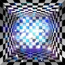 Translucent Light Vector Translucent Light Effect Plaid Room Black And White