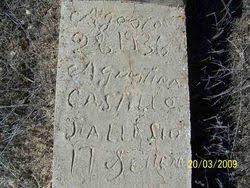 Agustina Castillo (1936-1936) - Find A Grave Memorial