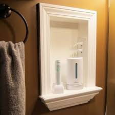 medicine cabinet with outlet. Unique With Remove Medicine Cabinets And Add A Builtin Shelf Put An Outlet In  It Geniousdisguised Classy Intended Cabinet With Outlet