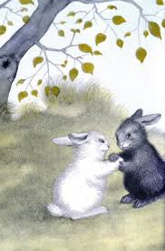 a page from the rabbits wedding 1958 children s book that caused a