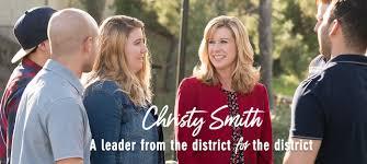 Executive Board Endorses Christy Smith for Congress - 47 Blog | AFM Local 47