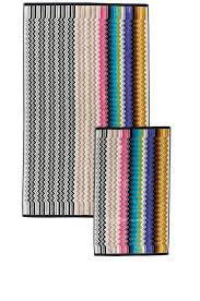 image 1 of missoni home ralph two piece towel set in multi