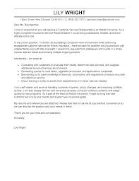 Cover Letter For Customer Service Manager Good Cover Letter Examples