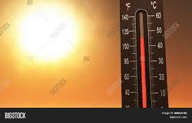 Ilustrasi Peningkatan Suhu