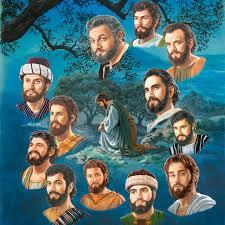 Resultado de imagem para Jesus  passou a noite toda em oração  e escolheu os doze