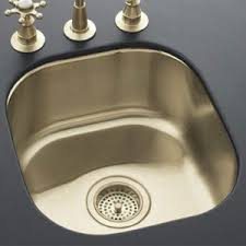 undermount bar sink. K14300-SBV Undertone Undermount Bar Sink - Satin Bronze 1